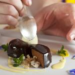 One of the Great chocolate desserts at our Restaurant