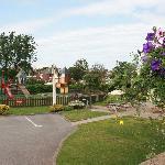 Beefeater garden area