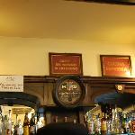 dettaglio del bar