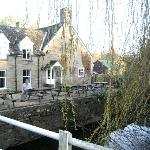 The Bridge Inn from the Footbridge