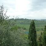 Vista sulle colline