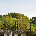Vista sulle colline dal residence