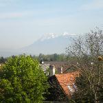 vista dal balcone della nostra camera