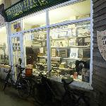 Shop Front with Old Radios, Dover Transport Museum