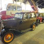 Vehicles in Dover Transport Museum