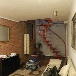 piso inferior do loft