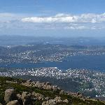 vue de hobart du mt wellington