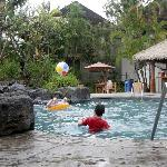 From swimming pool 1