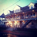 The Dockside Inn - at Sunset.