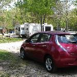 Williamsburg KOA charging