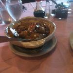 seafood-stuffed fresh tofu hot pot