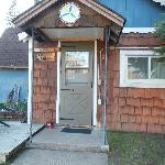 We stayed in the Copper Ridge Cottage.