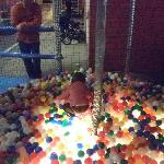 Ball pit for the young ones