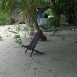 Wireless internet station behind the bungalow