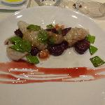 Grilled Squid with Red Potato Gnocchi