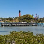 Gorgeous Jupiter Inlet view from Bubba Gump's
