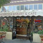 Front of Cinderella Bakery and Cafe