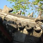 Traditional Beijing architecture!