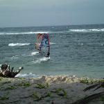 Windsurfing lessons with Fabrice Beaux