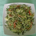Raw Pad Thai (Fresh sprout with some herbs)