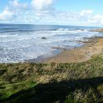 A short stroll to the beach