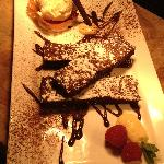 Dessert - Beetroot & Chocolate Brownie