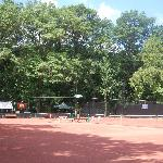 Clay Tennis Courts on Braddock Avenue