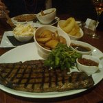 "My 24oz ""Pave of runp"" = best steak Ive ever had! (and Ive had loads!! :)"