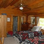 bedroom of the cabin