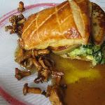 Feuilleté Foie gras, blettes...