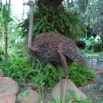 One of the many garden sculptures