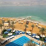 Dead Sea view from the room