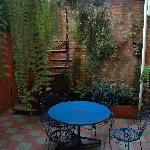 Rincón del patio central