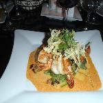 Shrimp and Pumpkin Risotto