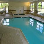 pool on the ground floor
