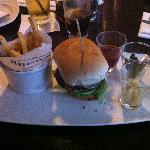 The Browns Burger - beef, bacon and emmental (see website for full description)