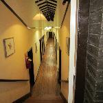 pasillos del hostal
