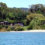 Our Beachfront Cottages are situated roughly 30 metres from the beach
