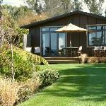 Cottages are designed and landscaped to blend in with their natural surroundings