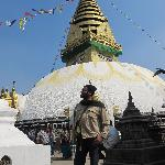 Swayambhunath Temple - February 2012