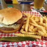 Tobacco Road Burger!