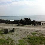 the beach in front of minsu