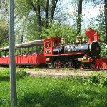 Атракцион железная дорога, потресающее путешествие с проездом через пищеру со сказочными героями