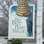 Bee Hive Tavern sign