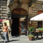 Miod i Wino restaurant entry