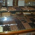 il bancone dei cioccolatini