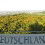 View of Germany from the tower at Drieländerpunkt