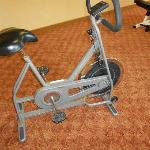 Exercise Bike in Fitness room