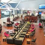 The Gloria Jeans in the departures area of Sydney Airport