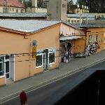 Blick auf die Markthallen